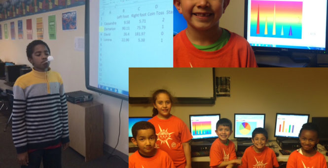 Engaging Kids with Excel