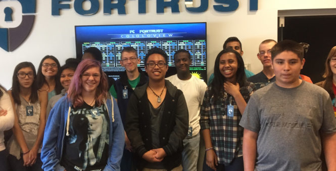 AY4S Students Tour FORTRUST!