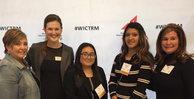 "KidsTek High School Students attend WICT ""Tech It Out"" Conference"