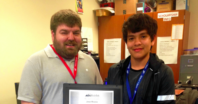 KidsTek Student Earns Net+ Certification!
