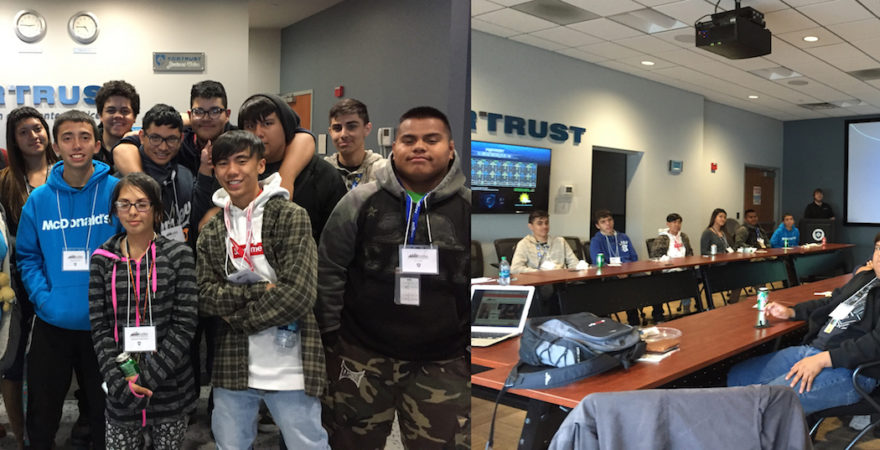 Hinkley High School Students Visit FORTRUST