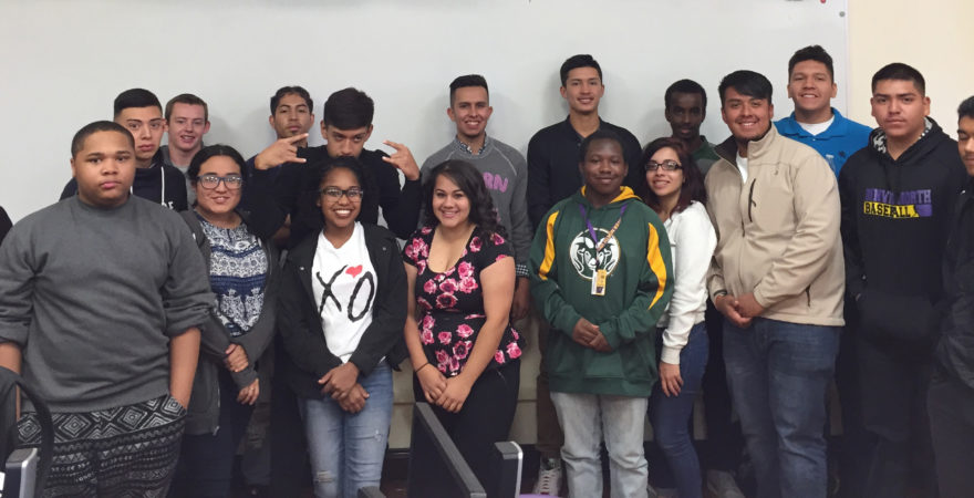 KIDSTEK ALUMNI SPEAKS AT NORTH HIGH SCHOOL