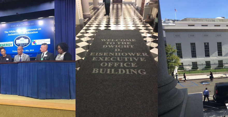 KidsTek Executive Director Visits White House for STEM conference