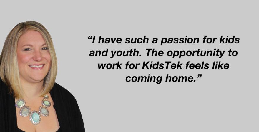 KidsTek Welcomes Aimee Charlton