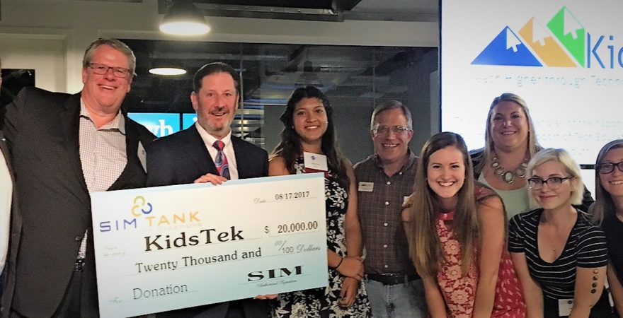 SIM Tank Event Proceeds Benefit KidsTek