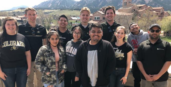 Leeds Business Scholars host KidsTek Students at CU Boulder