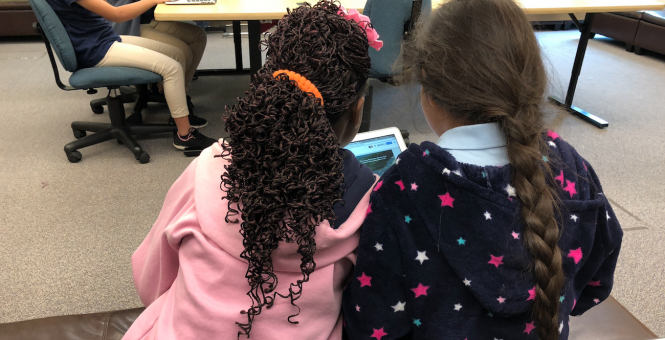 KidsTek Student Shares Tech Knowledge with Peers