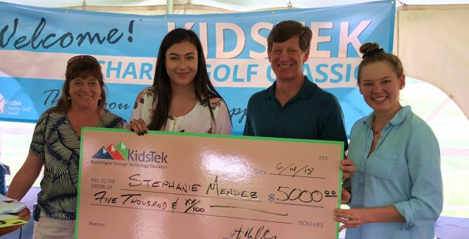 KidsTek Scholarship Winners Recognized