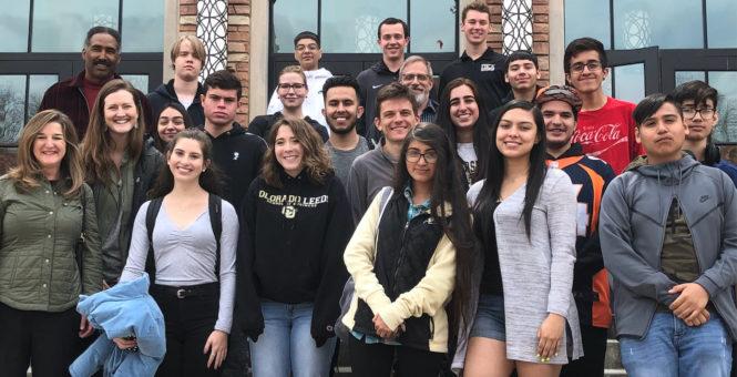 KidsTek Visits CU Boulder
