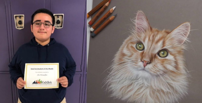 Ali Mosaffa – June 2019 Student of the Month