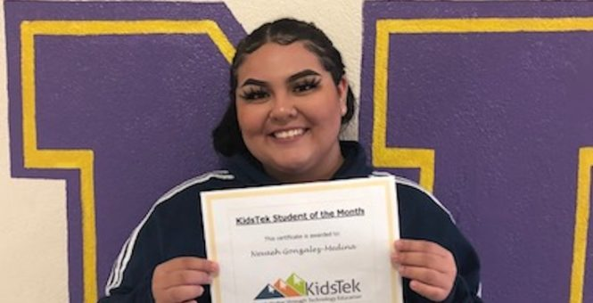 Nevaeh Gonzalez-Medina – October 2019 Student of the Month