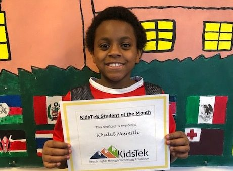 Khalid Nesmith – December 2019 Student of the Month