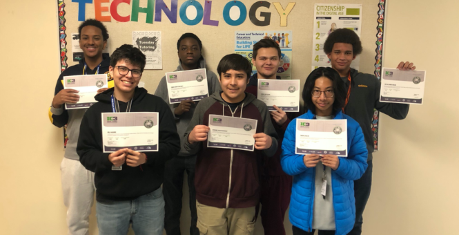 IC3 Certifications at Hinkley High