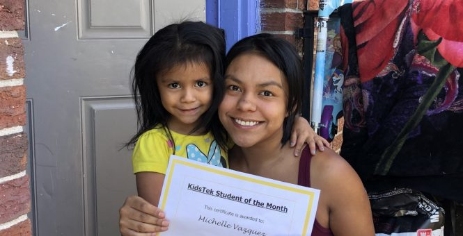 Michelle Vazquez – August 2020 Student of the Month