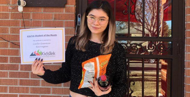 Carla Guereca-Barragan – December 2020 Student of the Month