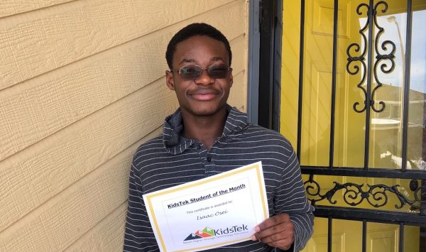 Isaac Osei – March 2021 Student of the Month