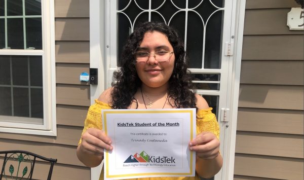 Trinady Castaneda – July 2021 Student of the Month