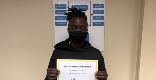 Samuel Addai-Opoku – August 2021 Student of the Month